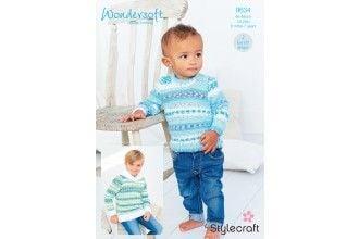 Stylecraft Bambino Knitting Pattern - 9634