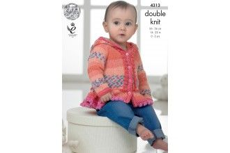 King Cole Knitting Pattern - 4313