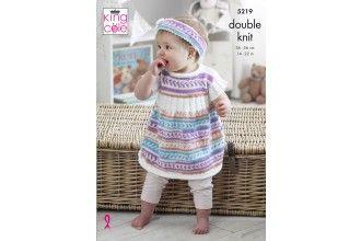 King Cole Knitting Pattern - 4219