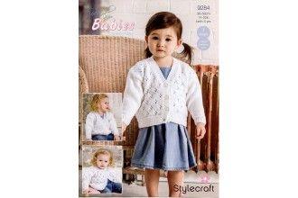 Stylecraft Bambino Knitting Pattern - 9284