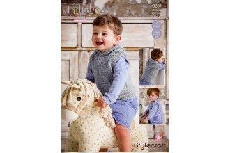 Stylecraft Bambino Knitting Pattern - 9281