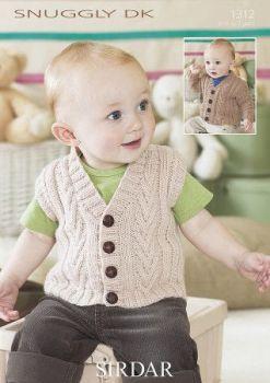 Sirdar Knitting Pattern - 1312