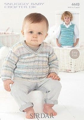Sirdar Knitting Pattern - 4449
