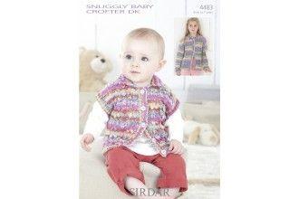 Sirdar Knitting Pattern - 4483