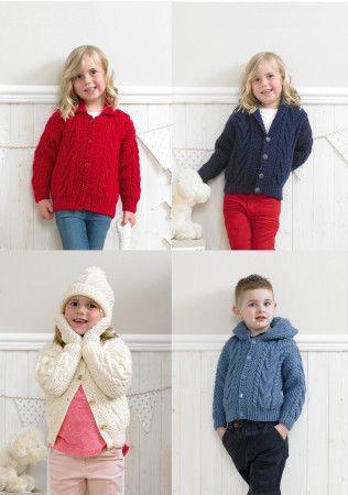 Baby & Child Aran Knitting Patterns