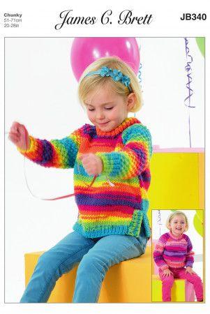 Baby & Child Chunky Knitting Patterns