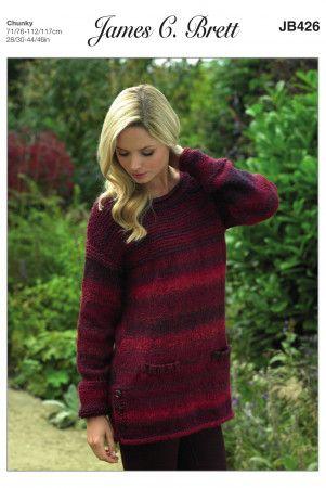 Chunky & Super Chunky Knitting Patterns