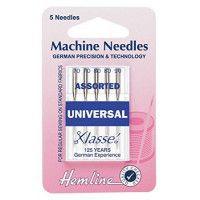 Hemline Machine Needles Universal Size - 80/12