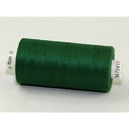 M0039 Forest Green- Moon Polyester Sewing Thread 1000yds