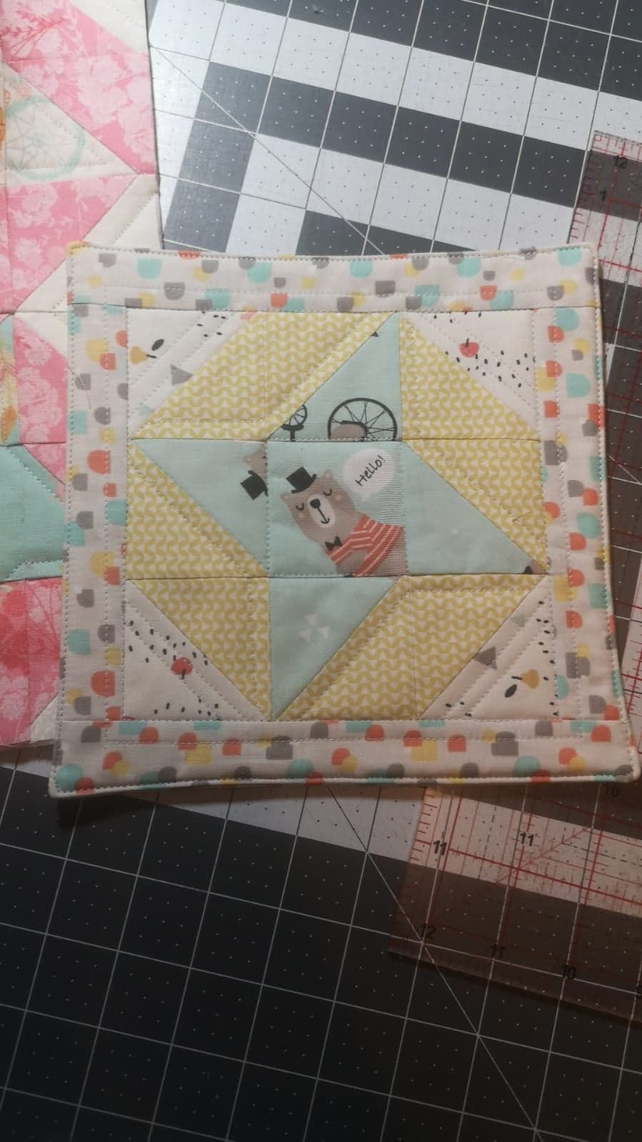 **Mini Make Swap** Friendship  Star Block - Digital Download