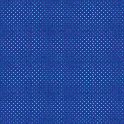 Makower Turquoise Spot on Blue 830 BT