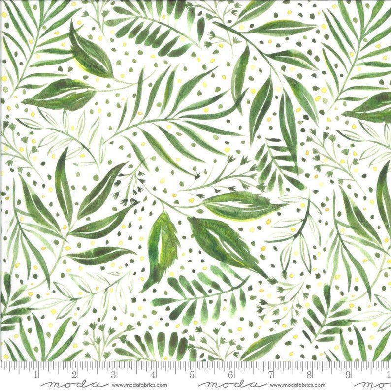 Moda - Moody Bloom by Create Joy Project - Jungle 8445 11D
