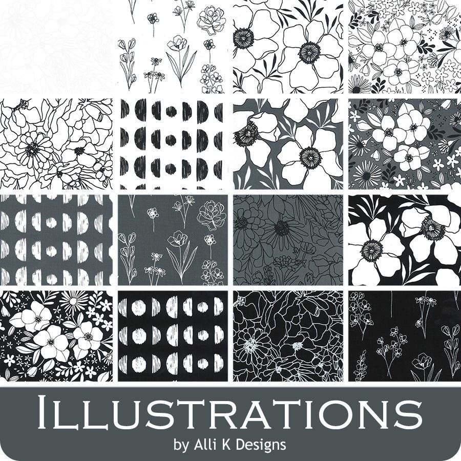 Illustrations by Moda - charm pack