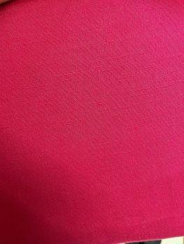 "Fuchsia Pink Linen Fabric 60"" wide 5m"
