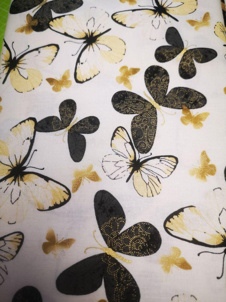 Benartex New Traditions Butterflies