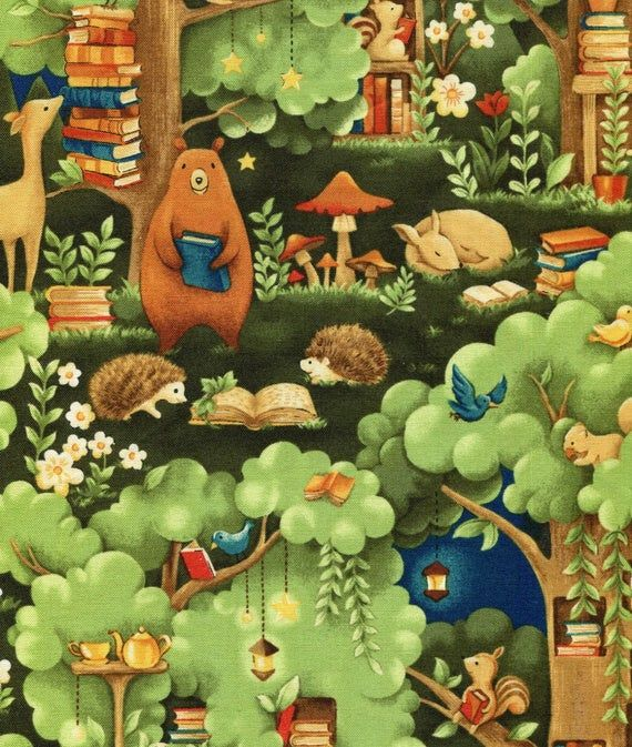 Forest Fable By Paintbrush Studios