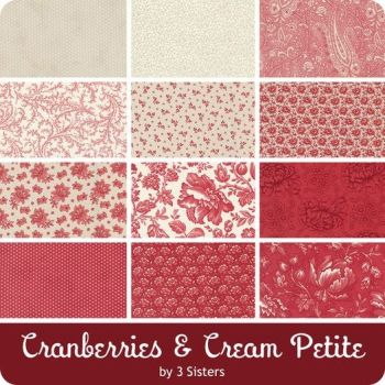 ***Early Release!!*** Cranberries & Cream- Moda Jelly Roll