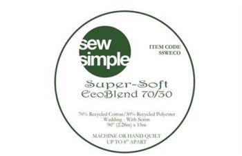 Wadding Super Soft Eco Blend 70/30