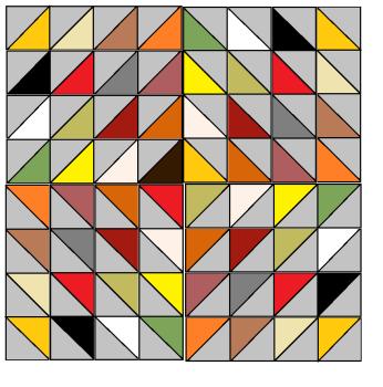 Diamond Delight Quilt pattern - digital download