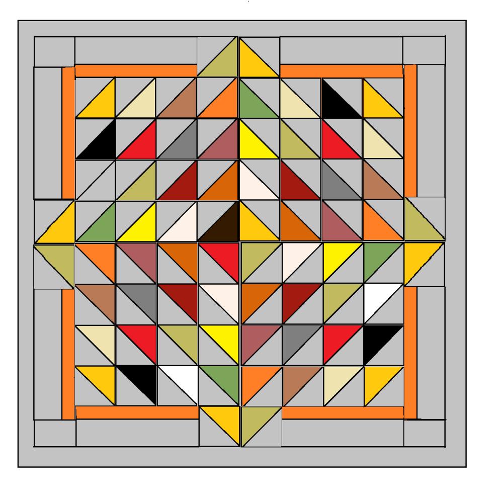 Diamond Delight  quilt pattern - paper copy