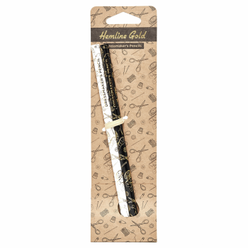 Hemline Gold Pencils:  Water Soluble: Grey and White: 2 Pieces
