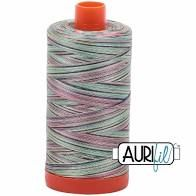Aurifil 50wt Thread - Marrakesh 3817 - bright variegated