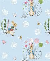 Peter Rabbit - pale blue with Peter Rabbit