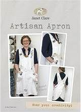 Janet Clare Pattern - Artisan Apron - Adult