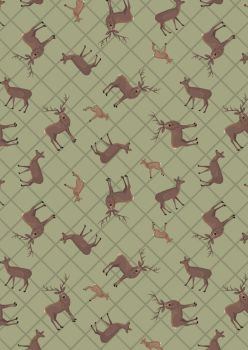 Lewis & Irene Loch - Deer and Fawns A540 1
