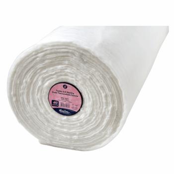 Hemline Wadding: Fusible: Soft: Iron-on: 90cm: White