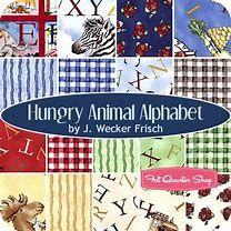 Hungry Animal Alphabet - Riley Blake
