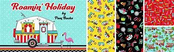 Roaming Holiday - Studio E Fabric