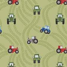 Lewis and Irene - Piggy Tales - Tractor on Green A533 1