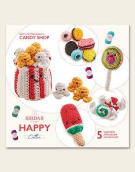 Sirdar Happy Chenille Book -Candy Shop  book 15