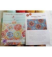 Persian Tiles Crochet Blanket Pattern by Janie Crow
