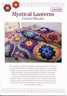 Mystical Lanterns Crochet Blanket Pattern by Janie Crow