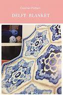 Delft Crochet Blanket Pattern by Janie Crow