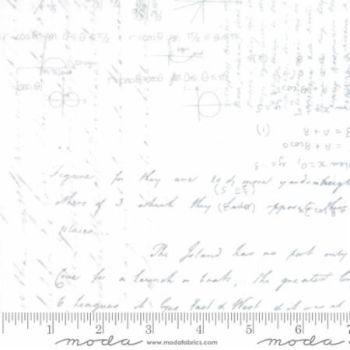 "Modern Background by Zen Chic Ivory script - Extra Wide 108"""