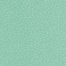 Riley Blake - Strawberry Honey - Aqua background with dots C10247