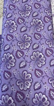 Benartex - Lavender Fields by Jan Shore - Violette Allover Light Purple 06830 64