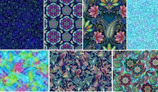 Blooming Paisley by Art Loft for Studio E