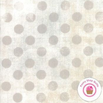 Moda - Grunge hits the spot 30149 11 grey dot on cream