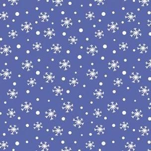 Kanvas Studio - Snow Place Like Home - Snow Daze Periwinkle Snowflake C9868