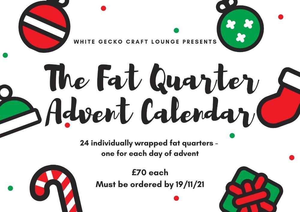 Fat Quarter Advent Calendar 2021