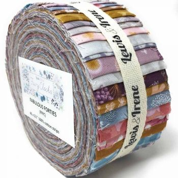 Fairy Clocks - Lewis and Irene Fabulous Forties Jelly Roll