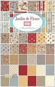 ****New In!*** French General Jardin de Fleurs Moda Layer Cake