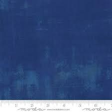 "Grunge by Basic Grey for Moda - Extra Wide 108"" - Cobalt"