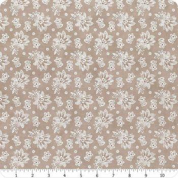 Cranberries & Cream Taupe  floral  44264 15