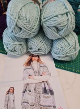 ****Duck Egg** - Special XL Bundle  & Pattern offer price £25  (usually £28.95)