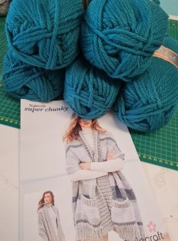 ****Teal* - Special XL Bundle  & Pattern offer price £25  (usually £28.95)